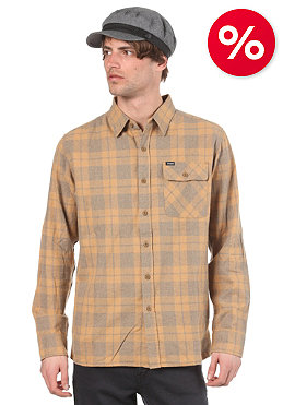 BRIXTON Colt L/S Shirt heather grey/gold plaid