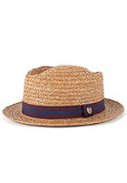 BRIXTON Delta Hat brown straw