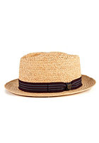 BRIXTON Delta Hat tan straw
