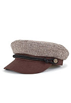 BRIXTON Fiddler Cap brown tweed