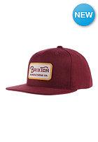 BRIXTON Grade burgundy