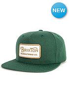 BRIXTON Grade Snapback Cap green