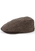 BRIXTON  Hooligan Cap brown/khaki herringbone