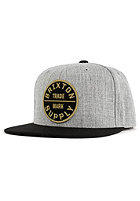 BRIXTON Oath 3 Snapback Cap light heather grey/black