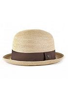 BRIXTON Pack Hat tan straw