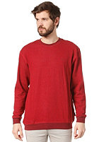 BRIXTON Partisan Crewneck Sweat red