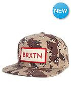 BRIXTON Rift Snapback Cap desert camo