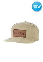 BRIXTON Rift Snapback Cap khaki