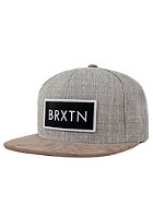 BRIXTON Rift Snapback Cap light heather grey/khaki