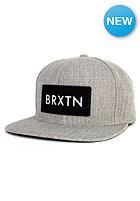 BRIXTON Rift Snapback Cap light heather grey