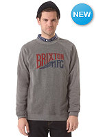 BRIXTON Sweat Coventry Crew Sweatshirt heather grey