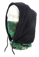 BUFF Polar Fleece Buff Hooded Neckwarmer phil casabon/ black