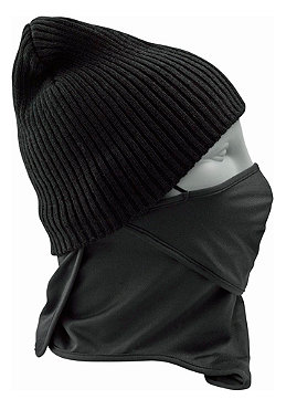 BURTON 1 Layer Low Facemask true black