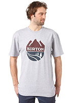 BURTON B Team S/S T-Shirt HEATHER GREY