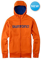 BURTON Bonded Hooded Sweat red orange
