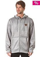 BURTON Bonded Hooded Zip Sweat ash heather