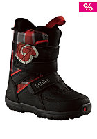 BURTON /Boys Grom 2013 Snowboard Boot black/ white