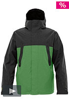 BURTON Briggs Jacket 2012 astro turf colorblock