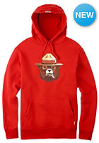 BURTON Brly Lgl Hooded Sweat fiery red