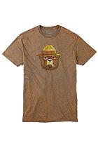 BURTON Brly Lgl Slim S/S t-Shirt dusky green
