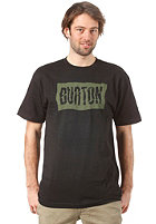 BURTON Bullet S/S T-Shirt TRUE BLACK