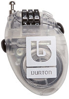BURTON Cable Lock clear