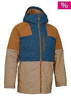 BURTON Carbide Snow Jacket cork/tru pny/team bl