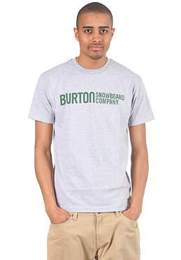 BURTON Classic Horizon S/S T-Shirt heather grey