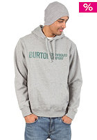 BURTON Classic Horizont Hooded Sweat heather grey