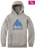 BURTON Classic Mountain Hooded Sweat gray heather