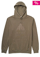 BURTON Classic Mountain Hooded Sweat heather canteen
