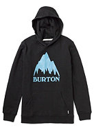 BURTON Classic Mountain Hooded Sweat TRUE BLACK