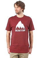 BURTON Classic Mountain S/S T-Shirt CRIMSON
