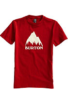 BURTON Classic Mountain S/S T-Shirt RED