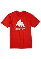 BURTON Classic Mtn S/S T-Shirt fiery red