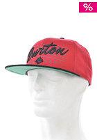 BURTON Classic Snapback Cap cardinal