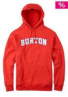 BURTON College Hooded Sweat fiery red