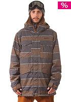 BURTON Covert Snow Jacket true pny nyack strp