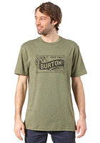 BURTON Draught S/S T-Shirt HEATHER OLIVE