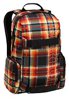 BURTON Emphasis Backpack majestic black plaid