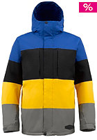 Encore Jacket cynide colorblock