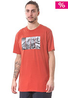BURTON Four Seasons Slim S/S T-Shirt rust bucket