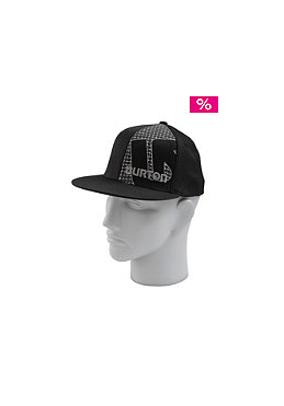 BURTON Grid Line Flexfit Cap true black