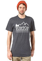 BURTON Griswold S/S T-Shirt HEATHER ECLIPSE