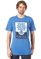 BURTON Harvest S/S T-Shirt HEATHER COBALT BLUE
