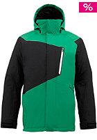Hostile Snow Jacket turf/true black