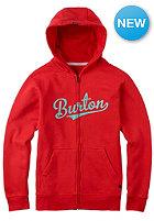 BURTON Kids Allstar Hooded Sweat fiery red