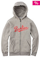 BURTON Kids Allstar Hooded Zip Sweat gray heather
