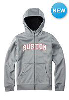 BURTON Kids Bonded Hooded Sweat monument heather