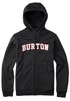 BURTON Kids Bonded Hooded Zip Sweat true black
